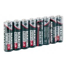 Alkaline batterij mignon AA / LR6 8 pcs. shrink