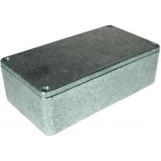 Metalen behuizing, Grijs, 66 x 120 x 40 mm, Die cast aluminium, IP54