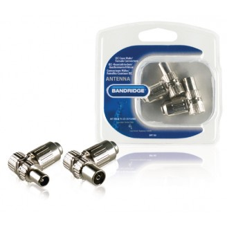 Antenne Connector Kit Coax Zilver