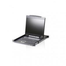 "1-Poorts KVM Switch LCD 19"" Console Zwart"