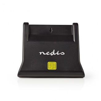 Smartcardlezer | USB 2.0 | Bureaumodel | Zwart