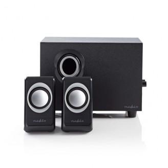PC-Speaker   2,1   33 W   Input: 1x 3,5 mm   USB Gevoed   Volumebediening