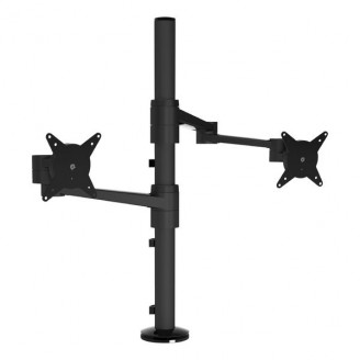 Viewlite Monitorarm Desk 143 Draai- en Kantelbaar 16 kg Zwart