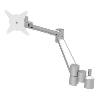 Viewlite Monitorarm Upgrade Kit Option 602 Draai- en Kantelbaar 7 kg Zilver/Wit