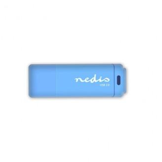 USB 2.0-stick | 16GB | 12 Mbps lezen / 3 Mbps schrijven | Blauw