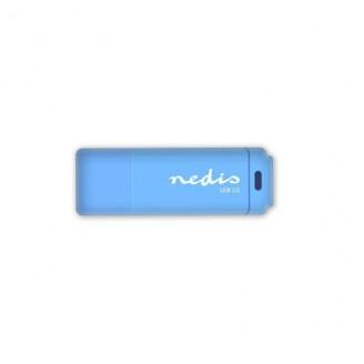 USB 2.0-stick | 32GB | 12 Mbps lezen / 3 Mbps schrijven | Blauw