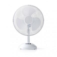 Tafelventilator | Diameter 30 cm | 3 snelheden | Oscillatiefunctie | Wit
