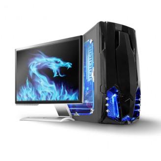 Led-lichtstrip voor gaming   Blauw   40 cm   Gevoed over SATA   Desktop-PC