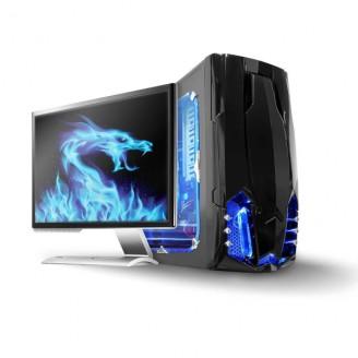 Led-lichtstrip voor gaming   Blauw   50 cm   Gevoed over SATA   Desktop-PC