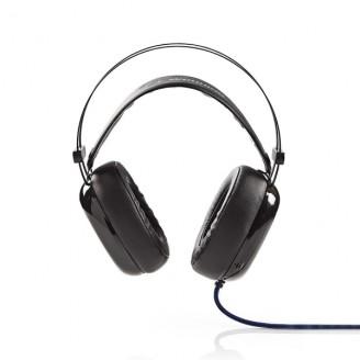 Gaming Headset   Over het Oor   Ultra Bass   LED-lampje   3,5 mm- en USB-stekkers