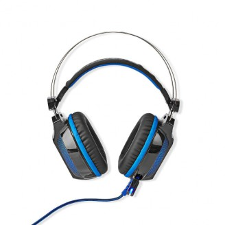Gaming Headset   Over-Ear   Surround   USB Type-A   Buigbare en Inschuifbare Microfoon   2.10 m   Normale Verlichting