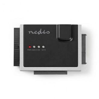 "Hardeschijfadapter | USB3.0 | 2.5 / 3.5 "" | IDE + SATA | Netvoeding"