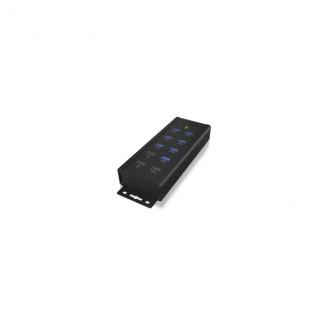 7 Poorten Hub USB 3.0 Zwart