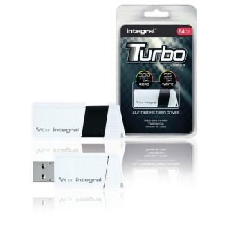 USB Stick USB 3.0 64 GB Wit/Zwart