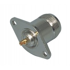 Connector N Female Zilver