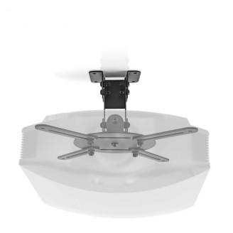 Plafondbeugel voor Projector | 360° Draaibaar | Max. 10 kg | Afstand tot de Muur van 130 mm | Zwart