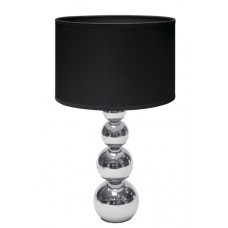Tafellamp Touch-Functie 40 W Chroom / Zwart
