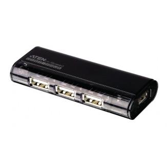 4-Poorts USB2.0 HUB Zwart