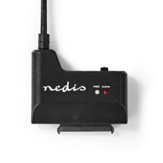 "Hardeschijfadapter | USB3.0 | 2.5 / 3.5 "" | 2.5/3.5 SATA SSD | Netvoeding"