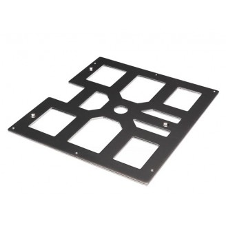 BED PLATE FOR 3D PRINTING (VERTEX ORIGINAL K8400 240 X 215 X 4 MM / 9,45  X 8,46  X 0,16 )