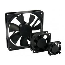 VENTILATOR 12VDC GLIJLAGER 60 x 60 x 25mm