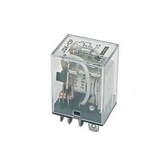 KRACHTIG RELAIS 10A/24VDC-220VAC 2 x WISSEL 12Vdc