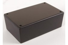 PLASTIC BEHUIZING - ZWART 160 x 95 x 55mm