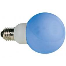 BLAUWE LEDLAMP - E27 - 230VAC - 20 LEDS