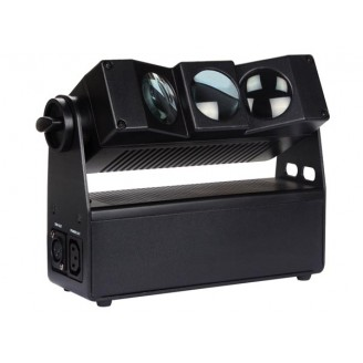 FREELED 33B - 3 x 10 W RGBW-LED MET DMX-STURING - BATTERIJVOEDING
