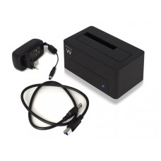 "EWENT - USB 3.1 Gen1 (USB 3.0) DOCKING STATION VOOR 2.5"" EN 3.5"" SATA HDD/SSD"